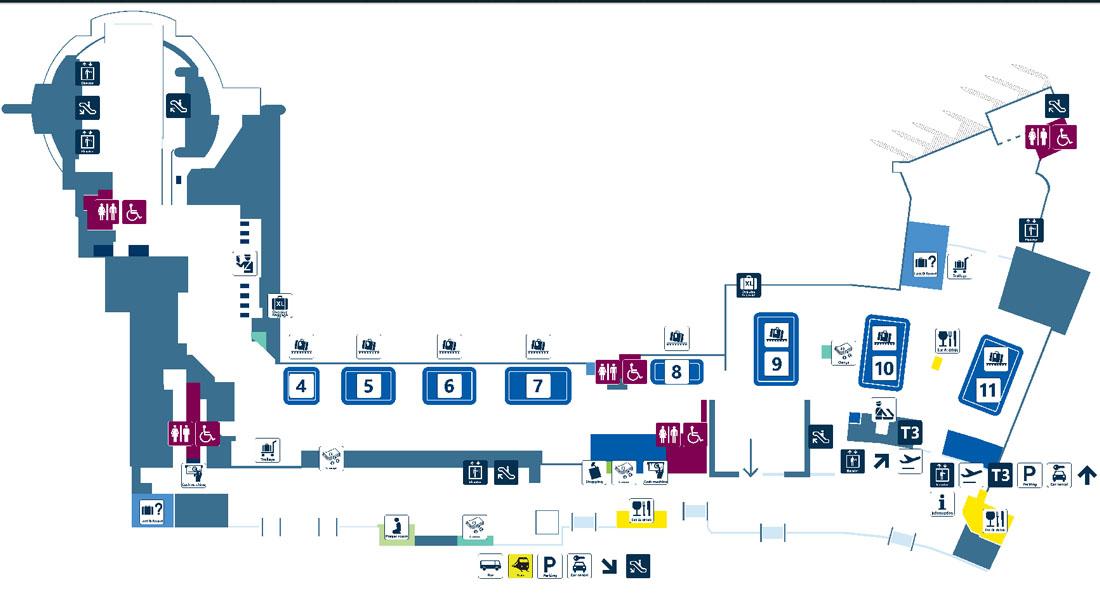 Схема аэропорта дубай терминал 3 купить квартиру в дубае